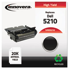 Remanufactured 341-2916 (5210) Toner, Black