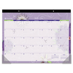 Recycled Flowers Desk Pad, 22 x 17, 2013 AAG5035