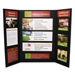create displays for school projects or business with trifold display boards this sturdy foam display board helps add - Tri Fold Display Board