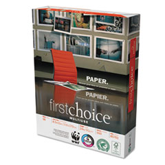 MultiUse Premium Paper, 98 Brightness, 24lb, 8-1/2 x 11, White, 5000 Shts/Ctn