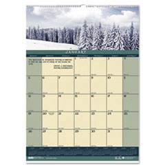Landscapes Monthly Wall Calendar, 12 x 16-1/2, 2015