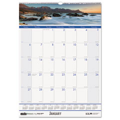 Coastlines Monthly Wall Calendar, 12 x 16-1/2, 2015