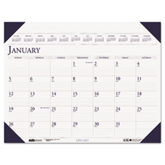 Executive Monthly Desk Pad Calendar, 24 x 19, 2017