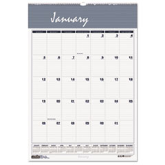 Bar Harbor Wirebound Monthly Wall Calendar, 22 x 31-1/4, 2016