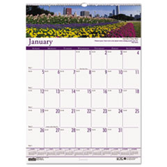 Gardens of the World Monthly Wall Calendar, 15-1/2 x 22, 2016
