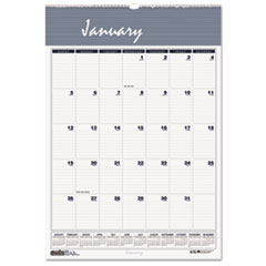 Bar Harbor Wirebound Monthly Wall Calendar, 15-1/2 x 22, 2016