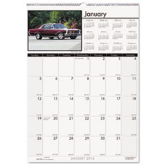 Classic Cars Monthly Wall Calendar, 12 x 16-1/2, 2015