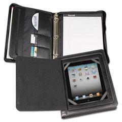 "Samsill ""iPad Zipper Binder With Magnetic Flap, Vinyl, Black"" at Sears.com"