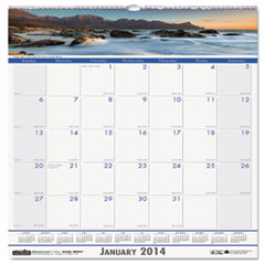 Coastlines Monthly Wall Calendar, 12 x 12, 2015