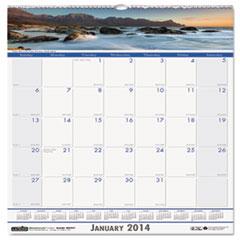 Coastlines Monthly Wall Calendar, 12 x 12, 2016