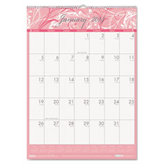 Breast Cancer Awareness Monthly Wall Calendar, 16-1/2 x 12, 2015