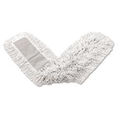 Dust_Mop_Head_KutAWay_White_18_x_5_CutEnd_Cotton