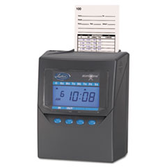 TOTALIZING TIME RECORDER, GRAY, ELECTRONIC, AUTOMATIC