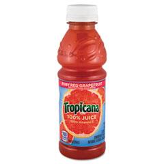 100% JUICE, RUBY RED GRAPEFRUIT, 10 OZ PLASTIC