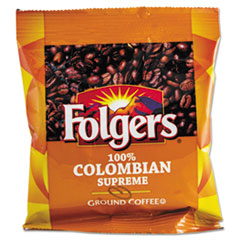 FOLGERS COFFEE, COLOMBIAN, GROUND, 1.75 OZ PACK,