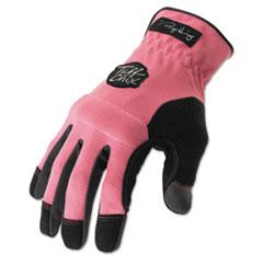 Ironclad * Tuff Chix Women's Gloves, Pink/Black, Medium