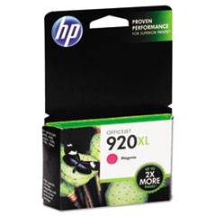 HP 920XL, (CD973AN) High Yield Magenta Original Ink Cartridge