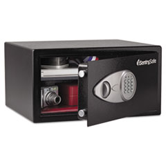 ELECTRONIC LOCK SECURITY SAFE, 1.0 FT3, 16-15/16W X