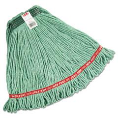 Web_Foot_Wet_Mops_CottonSynthetic_Green_Medium_1In_Green_Headband