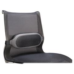I-Spire Series Lumbar Cushion, 13-3/8w x 6-1/8d x 2-5/8h, Gray FEL9311601