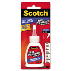 Performance Repair Glue in Precision Applicator, 1.25 oz, Clear