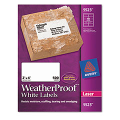 Avery WeatherProof Durable Labels
