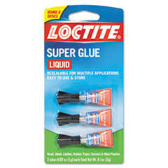 Super Glue 3-Pack, 3g, Clear