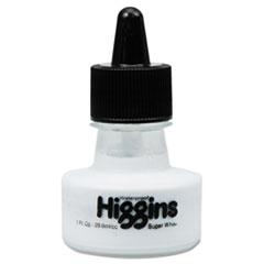Waterproof Pigmented Drawing Ink, White, 1oz Bottle