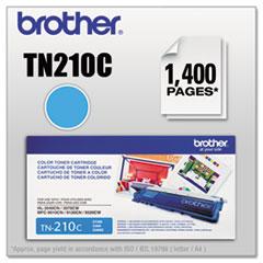 TN210C Toner, 1400 Page-Yield, Cyan