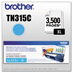 TN315C High-Yield Toner, Cyan