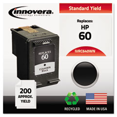 Remanufactured CC640WN (60) Ink, 200 Page-Yield, Black