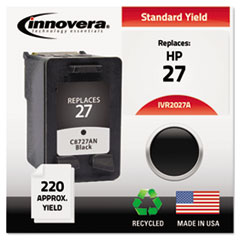 Remanufactured C8727AN (27) Ink, 220 Page-Yield, Black