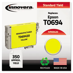 Remanufactured T069420 Ink, 350 Page-Yield, Yellow IVR69420