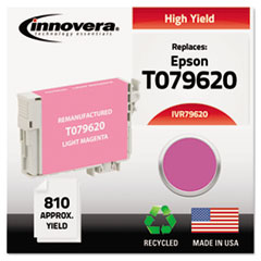 Remanufactured T079620 (79) High-Yield Ink, Light Magenta