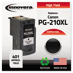 Remanufactured 2973B001 (PG210XL) Ink, 401 Yield, Black