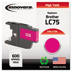Remanufactured LC75M High-Yield Ink, Magenta