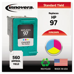 Remanufactured C9363WN (97) High-Yield Ink, Tri-Color