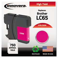 Remanufactured LC65M High-Yield Ink, Magenta