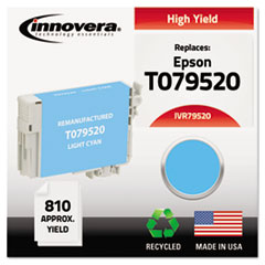 Remanufactured T079520 (79) High-Yield Ink, Light Cyan