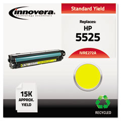 Remanufactured CE272A (5525) Toner, 15000 Page-Yield, Yellow