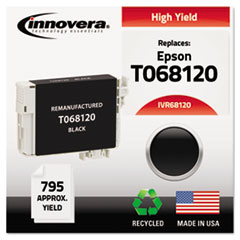 Remanufactured High-Yield T068120 (68) Ink, 795 Page-Yield, Black