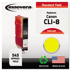 Remanufactured CLI-8 Ink, 545 Yield, Yellow