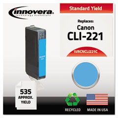 Remanufactured 2947B001 (CLI-221) Ink, Cyan