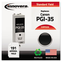Remanufactured 1509B002 (PGI35) Ink, 191 Yield, Black