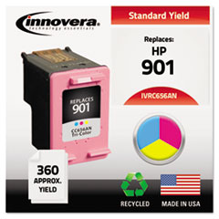 Remanufactured CC656AN (901) Ink, Tri-Color