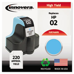 Remanufactured C8774WN (02) Ink, 240 Page-Yield, Light Cyan