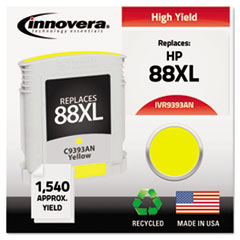Remanufactured C3939AN (88XL) Ink, 1540 Yield, Yellow
