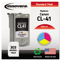 Remanufactured 0617B002 (CL41) Ink, 303 Yield, Tri-Color