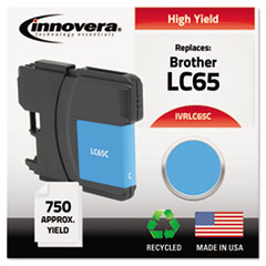 Remanufactured LC65C High-Yield Ink, Cyan
