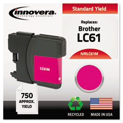 Remanufactured LC61M Ink, Magenta